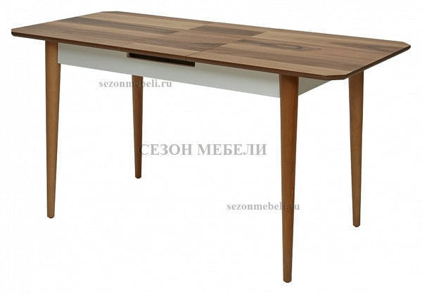 Стол ISTANBUL шпон ореха 120 см (фото, вид 4)