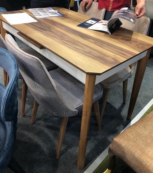 Стол ISTANBUL шпон ореха 120 см (фото, вид 5)