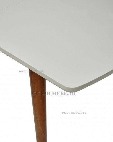 Стол MERCAN белый/ орех 120 см (фото, вид 3)