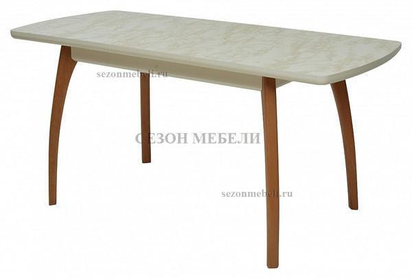Стол VIZYON крем/ орех 140 см (фото, вид 2)