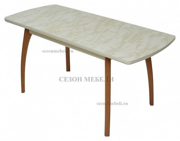 Стол VIZYON крем/ орех 140 см (фото, вид 3)