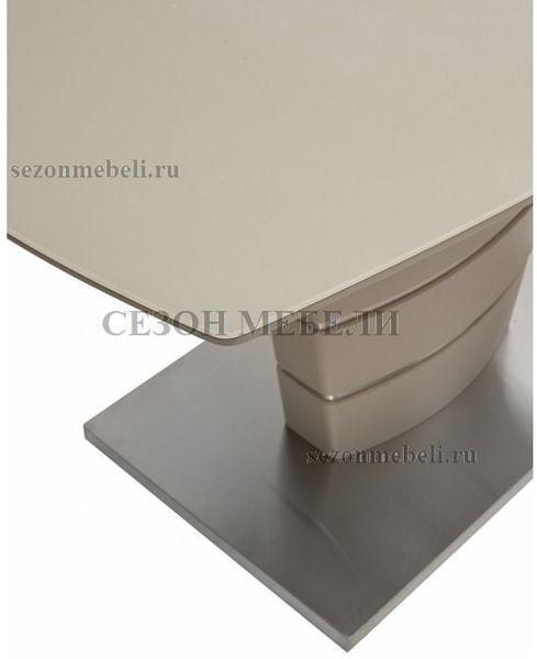 Стол CONE 140 Шампань матовое стекло (фото, вид 5)