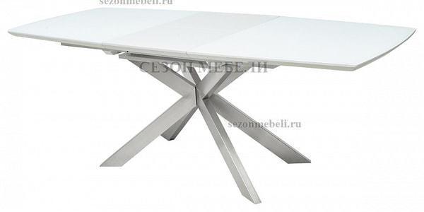 Стол CRYSTAL 160 WHITE MATT GLASS (фото, вид 3)