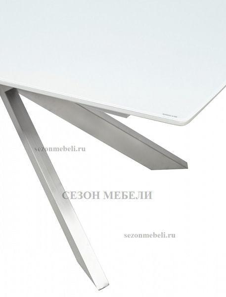 Стол CRYSTAL 160 WHITE MATT GLASS (фото, вид 4)