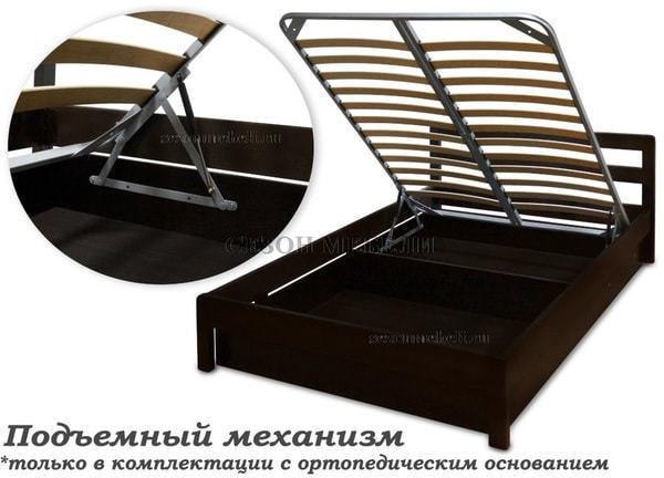 Кровать Леонсия с резьбой (фото, вид 10)