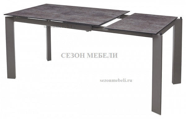 Стол CORNER 120 VOLCANO GREY/ GREY1 (фото, вид 1)