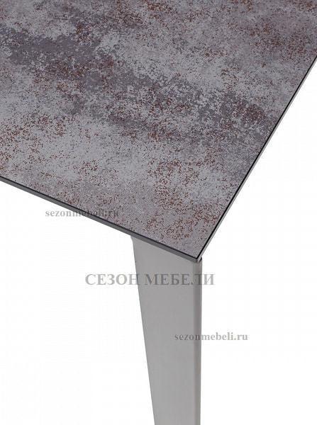 Стол CORNER 120 VOLCANO GREY/ GREY1 (фото, вид 2)