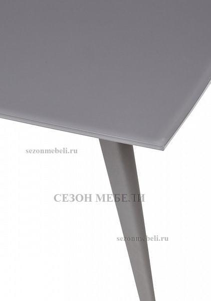 Стол ELIOT 120 GREY1 матовое стекло/ GREY1 каркас (фото, вид 4)