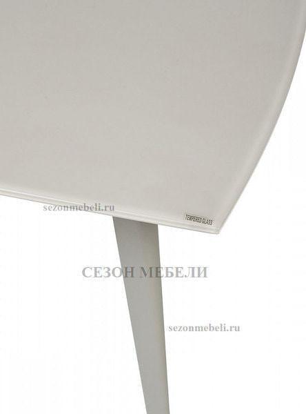 Стол ELIOT 120 GREY9 матовое стекло/ GREY9 каркас (фото, вид 4)