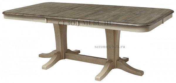 Стол LT T17547 DARK OAK #K532/ BUTTERMILK #WW504 (фото, вид 2)