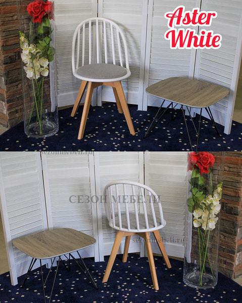 Стул ASTER WHITE (фото, вид 3)