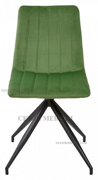 Стул MILLER весенняя зелень/ серый каркас, велюр G062-16 (фото, вид 1)