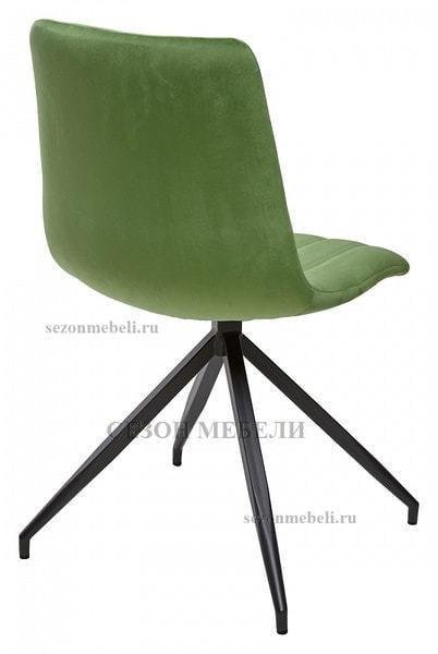 Стул MILLER весенняя зелень/ серый каркас, велюр G062-16 (фото, вид 2)