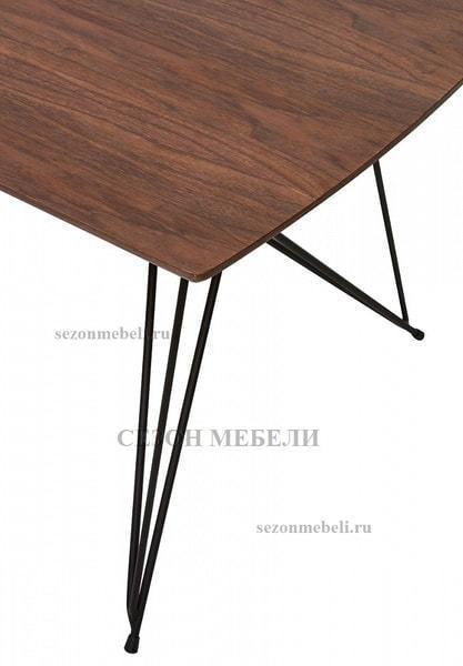 Стол ALICE 160 см орех (фото, вид 1)