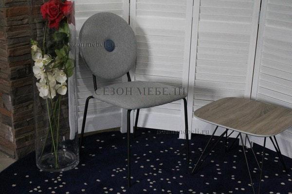Стул BAROQUE светло-серый (фото, вид 4)