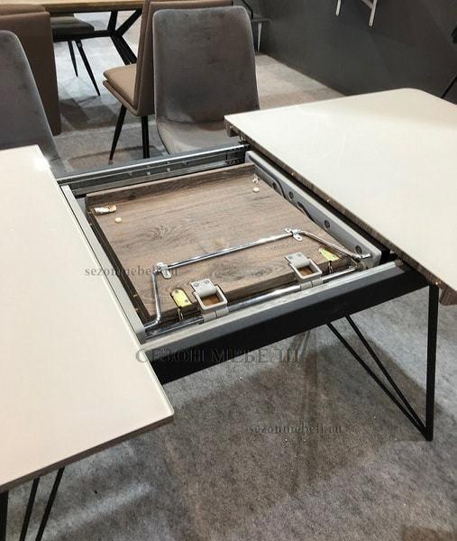 Стол COMPLEX DT780 140 WHITE (фото, вид 2)