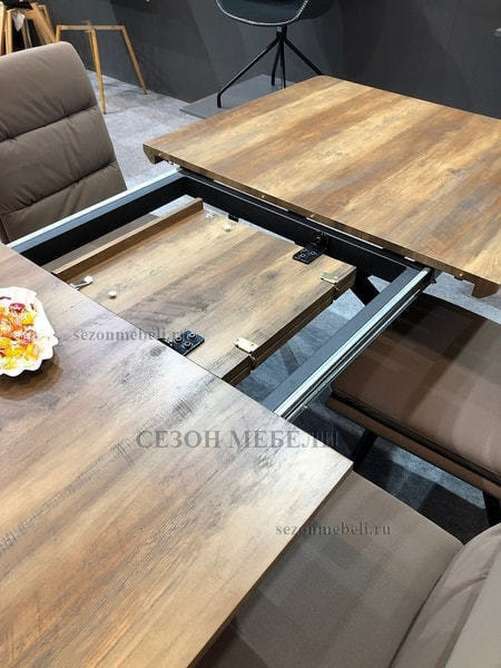 Стол ROOK DT779 160 Grey Oak (фото, вид 2)