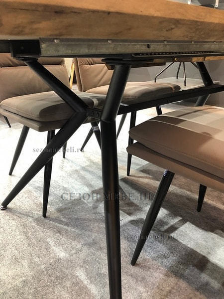 Стол ROOK DT779 160 Grey Oak (фото, вид 3)