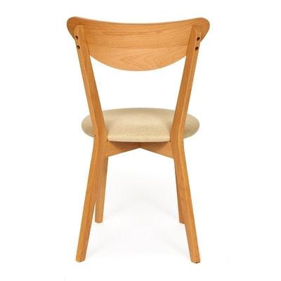 Стул MAXI (Макси) мягкое сиденье/ цвет сиденья - Бежевый (фото, вид 1)