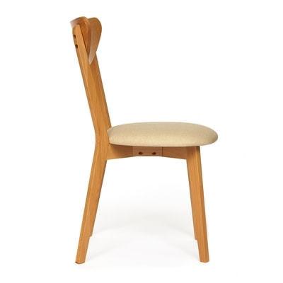 Стул MAXI (Макси) мягкое сиденье/ цвет сиденья - Бежевый (фото, вид 2)