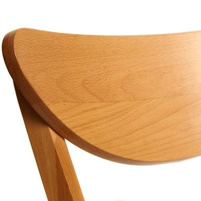 Стул MAXI (Макси) мягкое сиденье/ цвет сиденья - Бежевый (фото, вид 3)