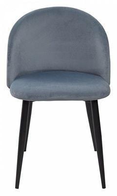 Стул DISCO G062-81 голубой, велюр (фото, вид 2)