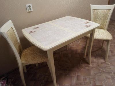Стол Домино-2О слоновая кость/ Комфорт (фото, вид 3)
