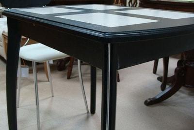 Стол Домино-1 МР венге/амбер 1 (фото, вид 2)