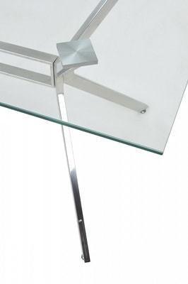 Стол SALERNO150 прозрачный (фото, вид 2)
