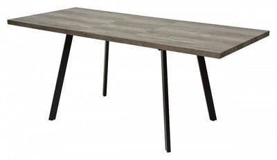Стол BRICK 140 Серый дуб #31054K (фото, вид 1)