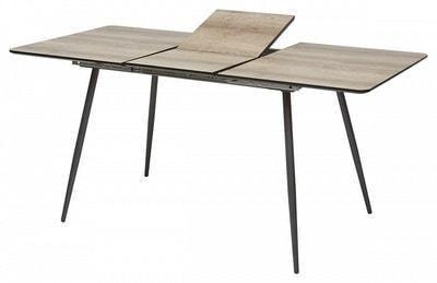 Стол PEPPER GREY #4 дуб серо-коричневый/ серый каркас (фото, вид 2)