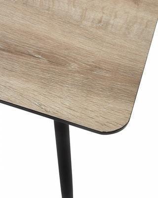 Стол PEPPER GREY #4 дуб серо-коричневый/ серый каркас (фото, вид 4)