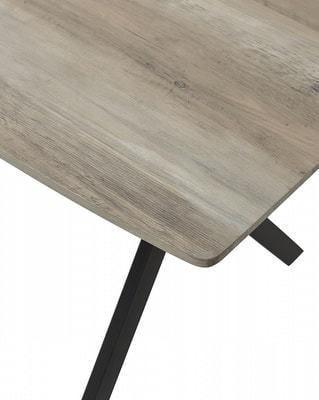 Стол CRUDE 140 серый дуб (фото, вид 1)