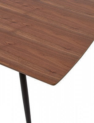 Стол MESSI 160 см орех (фото, вид 1)