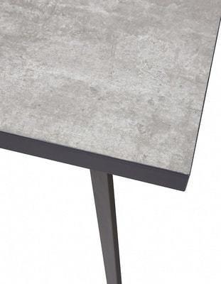 Стол VERNER 160 CEMENT GREY (фото, вид 2)