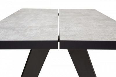 Стол VERNER 160 CEMENT GREY (фото, вид 3)
