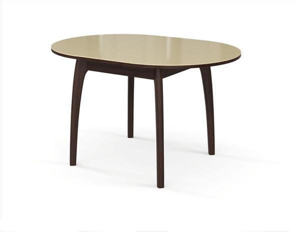 Стол №46 ДН4 венге/стекло бежевое (фото, вид 1)
