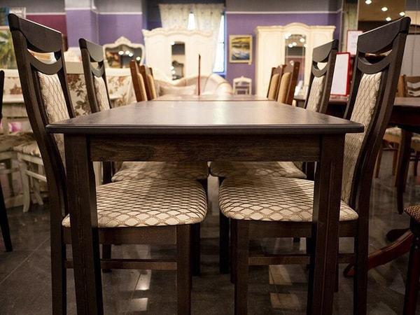 Стол обеденный Соболь (палисандр) (фото, вид 2)