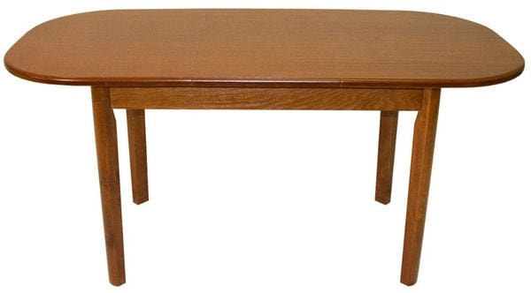 Стол обеденный овальный ВМ30 (коньяк) (фото, вид 1)