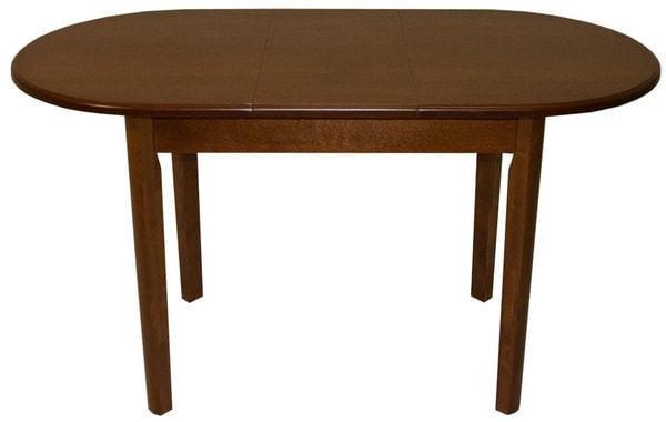 Стол обеденный овальный ВМ40 (коньяк) (фото, вид 1)
