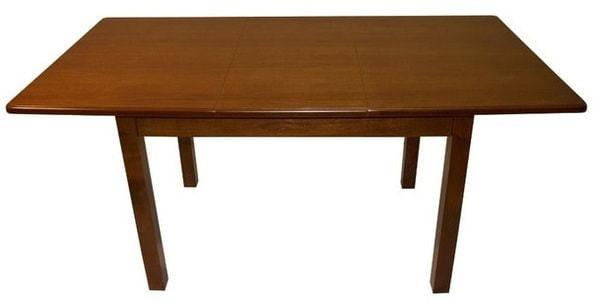 Стол обеденный прямоугольный ВМ20 (коньяк) (фото, вид 1)