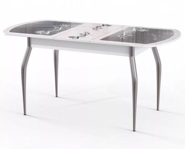 Стол Флоренция (серебро) (фото, вид 1)