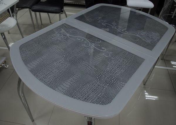 Стол Флоренция (серебро) (фото, вид 2)