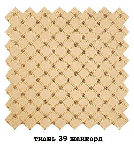 Стул Алькор дикий орех с патиной и каннелюром ткань 39 (фото, вид 1)