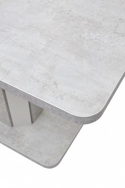 Стол STORK Белый бетон/ Белый 120 (фото, вид 5)