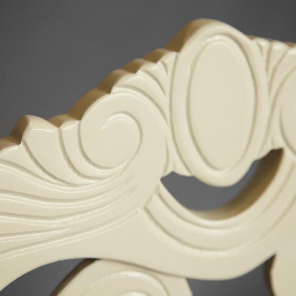Стул Андромеда (Andromeda) ivory white (слоновая кость) (фото, вид 3)