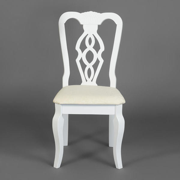 Стул Aphrodite (Афродита) pure white (белый) (фото, вид 2)