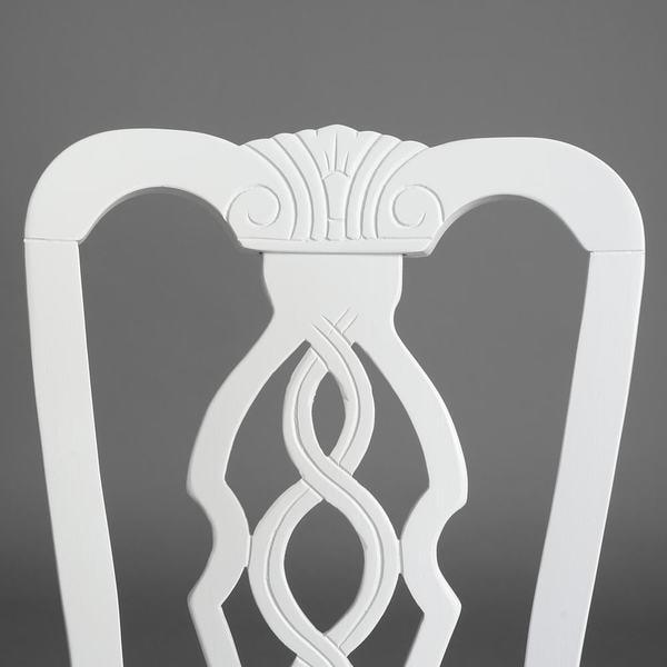 Стул Aphrodite (Афродита) pure white (белый) (фото, вид 3)