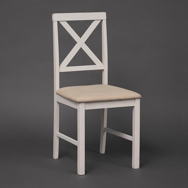 Обеденная группа Хадсон (стол + 4 стула)/ Hudson Dining Set (слоновая кость) (фото, вид 1)