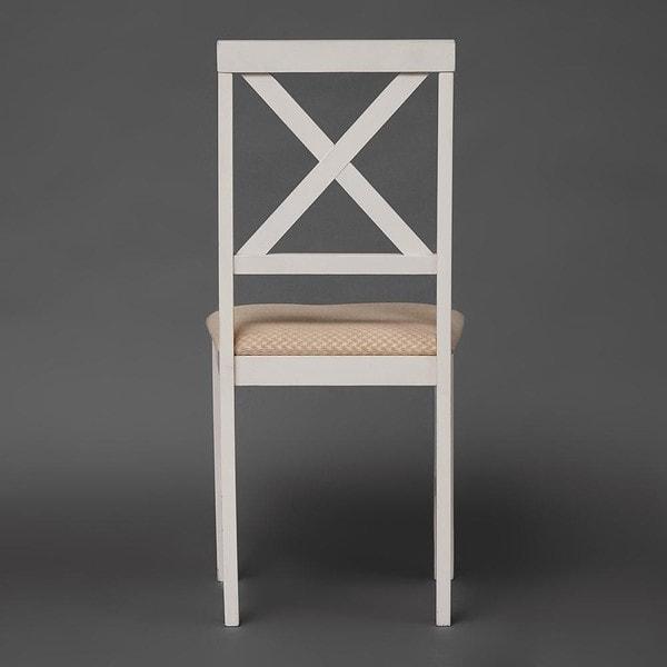 Обеденная группа Хадсон (стол + 4 стула)/ Hudson Dining Set (слоновая кость) (фото, вид 2)